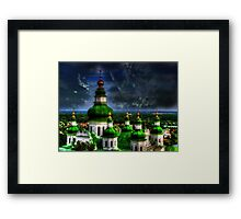 Domes of Trinity Cathedral Framed Print