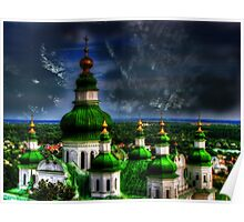 Domes of Trinity Cathedral Poster
