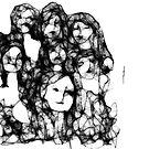 scribbler 'women' by Ellen Keagy