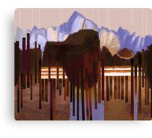 """Mountain View"" Canvas Print"