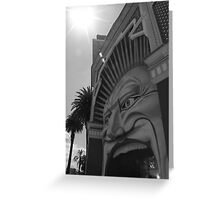 The Mouth - Luna Park, Melbourne Greeting Card