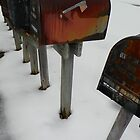 Rusty Ol' Mailboxes by ArtistJD