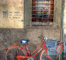street scene in lucca by clint hudson