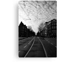 New Year's Day in Amsterdam Canvas Print
