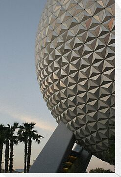 Walt Disney World Epcot Spaceship Earth by chewi