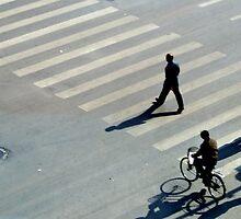 Street Crossing, Shenyang, China by littleinca
