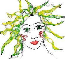 Mask of medusa, 2011 by Thelma Van Rensburg