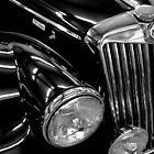 1955 MG TF 1500 by Steve Mezardjian