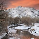 Clear Creek Sunrise by Teresa Smith
