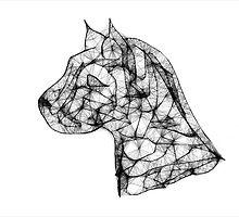 Scribbler Pit Bull by Ginny York