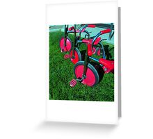 """TRIKES X THREE!"" Greeting Card"