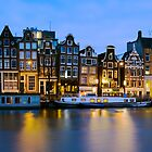Houses in Amsterdam - The Netherlands by Yen Baet