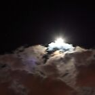 Storm clouds at night by Rodney Fagan
