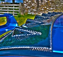 Scooby Doobrey - Study of Carbon Fibre on Subaru Impreza by Daisy-May