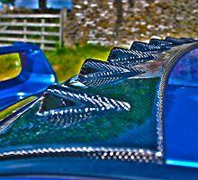 Scooby Doobrey - Study of Carbon Fibre on Subaru Impreza by Daisy-May