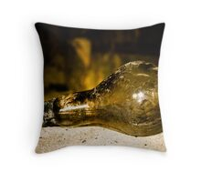 Glimmer in the darkness Throw Pillow