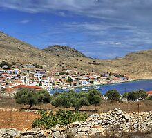 Halki Panorama by Tom Gomez