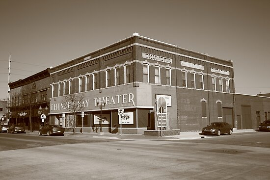 Alpena, Michigan - Thunder Bay Theatre by Frank Romeo