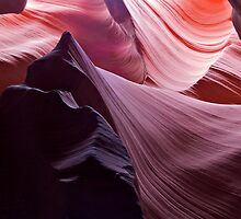 The Veil 3, Antelope Canyon by Alex Cassels