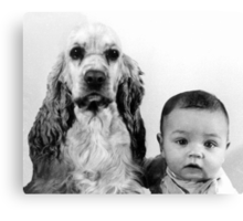 Babe and Gordy Canvas Print
