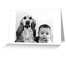 Babe and Gordy Greeting Card
