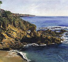 Key Hole Arch Laguna by Randy Sprout