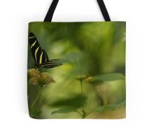 """Gliding in Pure Bliss-Conservatory Butterfly"" Tote Bag"