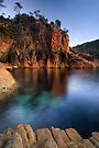 Sleepy Bay, Freycinet National Park, Tasmania by Michael Treloar