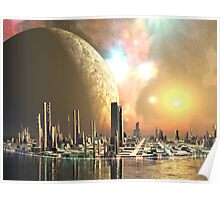 Utopia Islands - Cities of the Future Poster