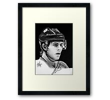 Luke Schenn (Toronto Maple Leafs) Framed Print