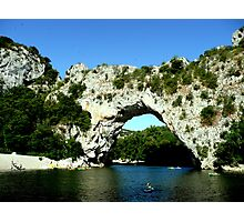 Pont d'Arc Photographic Print