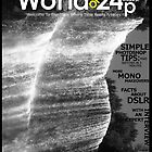World of 24p - (magazine cover) by Parth Soni