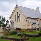 Old Church & Cemetery. Mitchelton, Brisbane, Queensland, Australia. by Ralph de Zilva