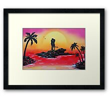 Rise Of Passion Framed Print