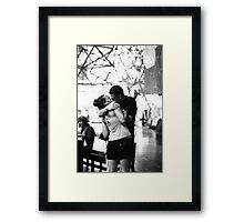 Love, like no-one's watching! Framed Print