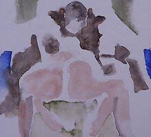 Sumo wrestlers by Catrin Stahl-Szarka