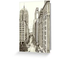 Downtown Oklahoma City Greeting Card