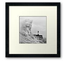 Porthcawl Lighthouse Framed Print