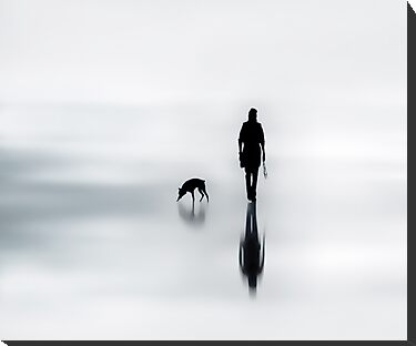 one man and his dog by Ingz