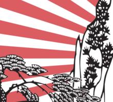 Chinese Landscape T Sticker