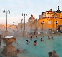 Széchenyi medicinal baths III by zumi