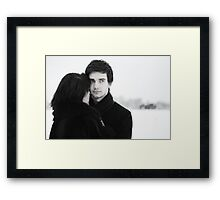i'll look out for you Framed Print