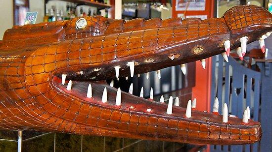 Crocodile's dial by D. D.AMO