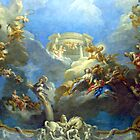 Magnificent Frescoes Of Versailles II by Al Bourassa