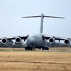Waiting for clearance. C-17 by Bairdzpics
