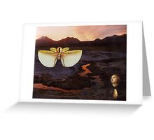 M Blackwell - The Sentinels of Sunset Ridge Greeting Card