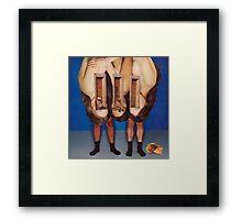 M Blackwell - Turning Cowboys to Gemstones Framed Print