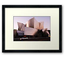 The Walt Disney Concert Hall Framed Print