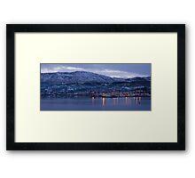 killybegs dusk Framed Print
