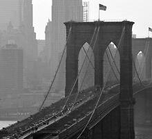 Brooklyn Bridge, New York City by leungnyc